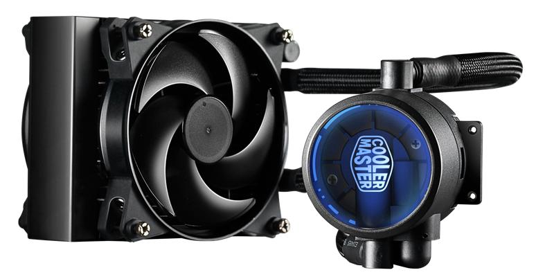 vodní chladič Cooler Master MasterLiquid Pro 140, univ. socket, 140mm PWM fan