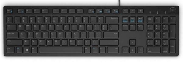 Dell KB216 multimediální klávesnice SK černá