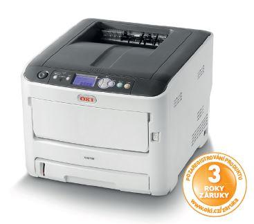OKI C612n, A4, barevná, ProQ2400, 36/34ppm,PCL5c,PS3