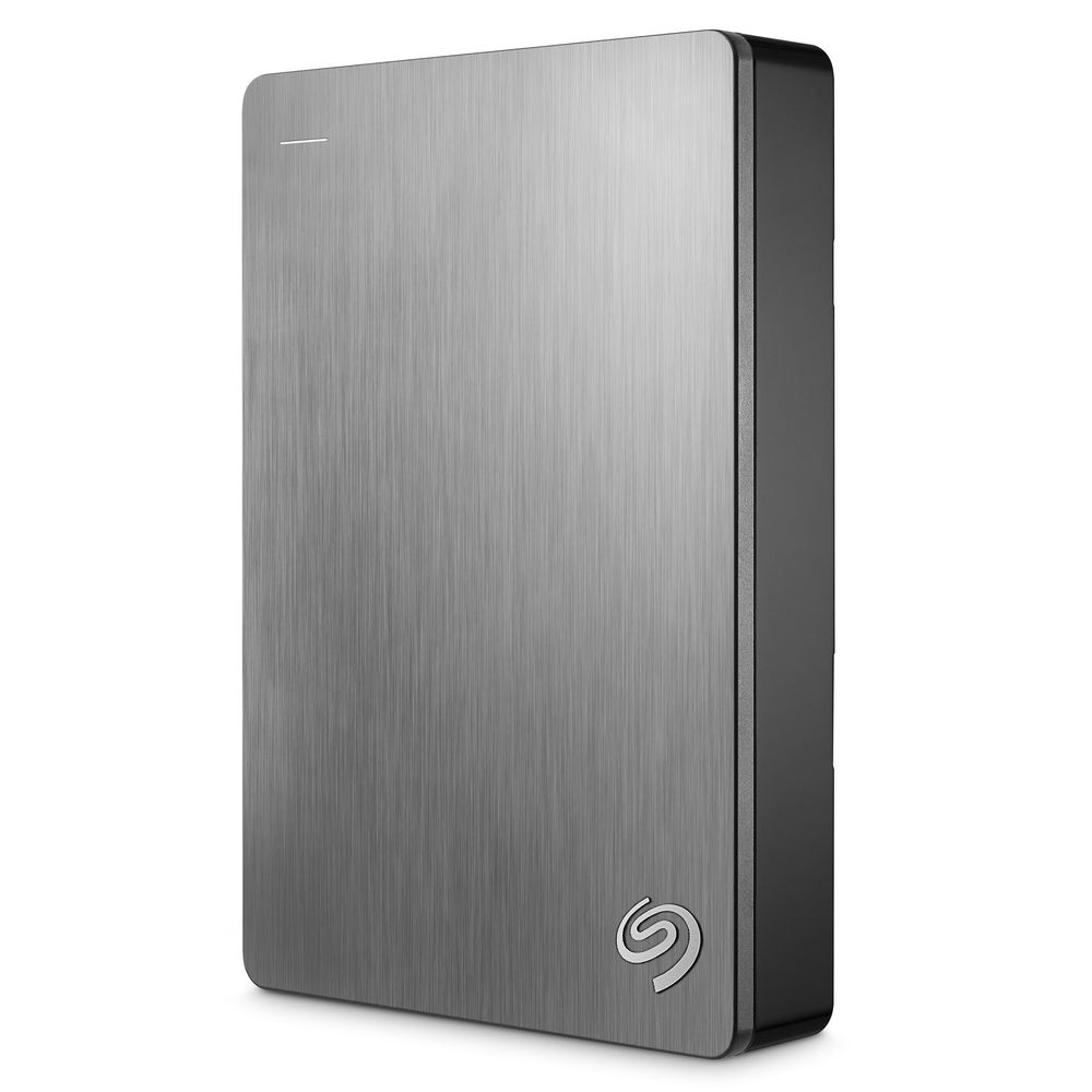 "Seagate Backup Plus Portable 2,5"" - 5TB/USB 3.0/Silver"