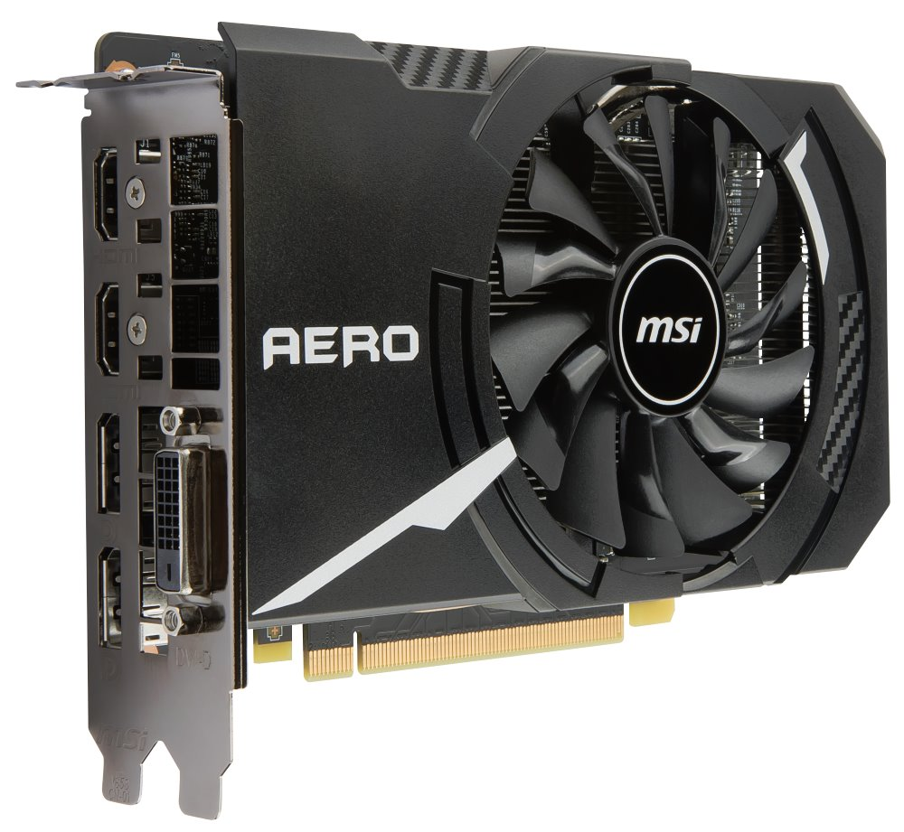 MSI GeForce GTX 1060 AERO ITX 3G OC, 3G GDDR5, 2x DP, 2xHDMI, DVI