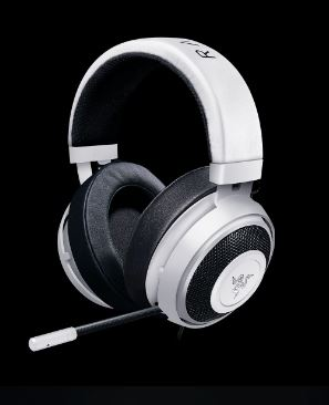 Gaming headset Razer Kraken Pro V2 White Oval
