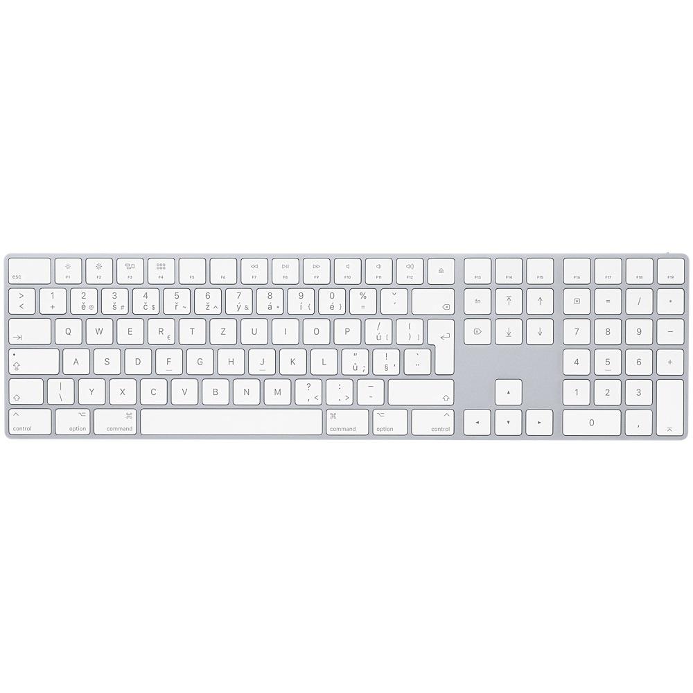 Apple Magic Keyboard s numerickou klávesnicí CZ