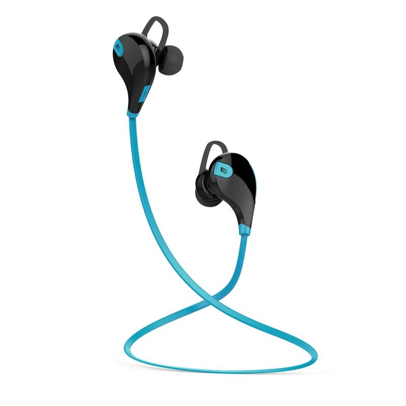 EVOLVEO SportLife XS2, Bluetooth stereo sluchátka s mikrofonem, modro-černé