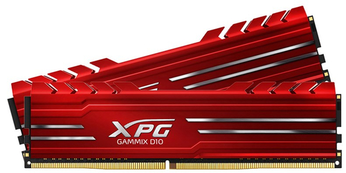 16GB DDR4-3000MHz ADATA XPG GAMMIX D10 RGB CL16, 2x8GB
