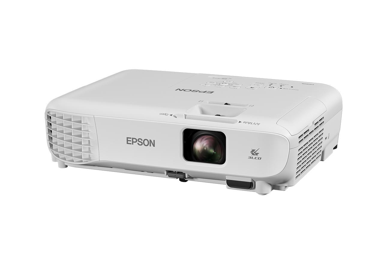 EPSON 3LCD/3chip projektor EB-X05 1024x768 XGA/3300 ANSI/15000:1/HDMI/2W Repro/optionWi-fi/