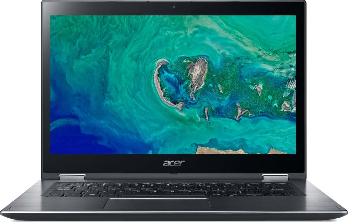 """Acer Spin 3 (SP314-51-38Y8) Intel Core i3-7130U/4GB/256GB+N/14"""" FHD IPS Multi-touch LCD/HD Graphics/W10 Home/Gray"""