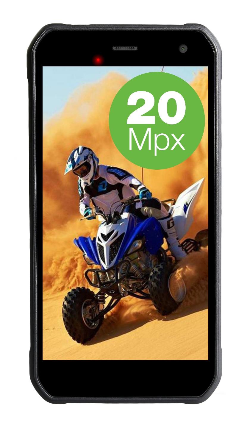 EVOLVEO StrongPhone G8, vodotěsný odolný Android 7.0, Octa Core smartphone, 64GB,dual SIM,