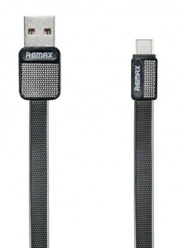 Remax RC-044a Platinum datový kabel typ USB C,černý