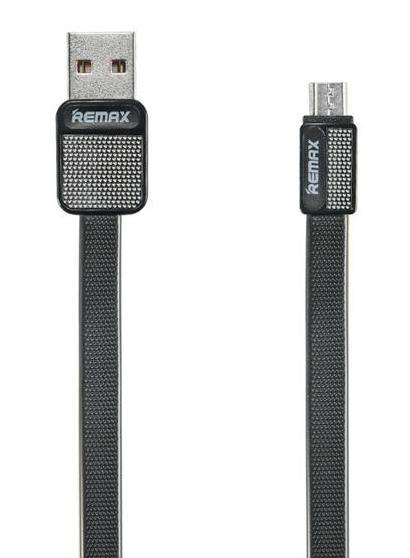 Remax RC-044m Platinum datový kabel, typ micro USB,černý