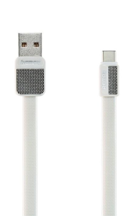 Remax RC-044a Platinum datový kabel typ USB C,bílý