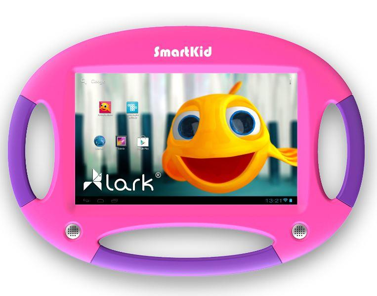 Lark Smart Kid 7, 7'' PureHD, 1.2GHz, 4GB, 1GB RAM, Android 4.2, růžovo-fialový
