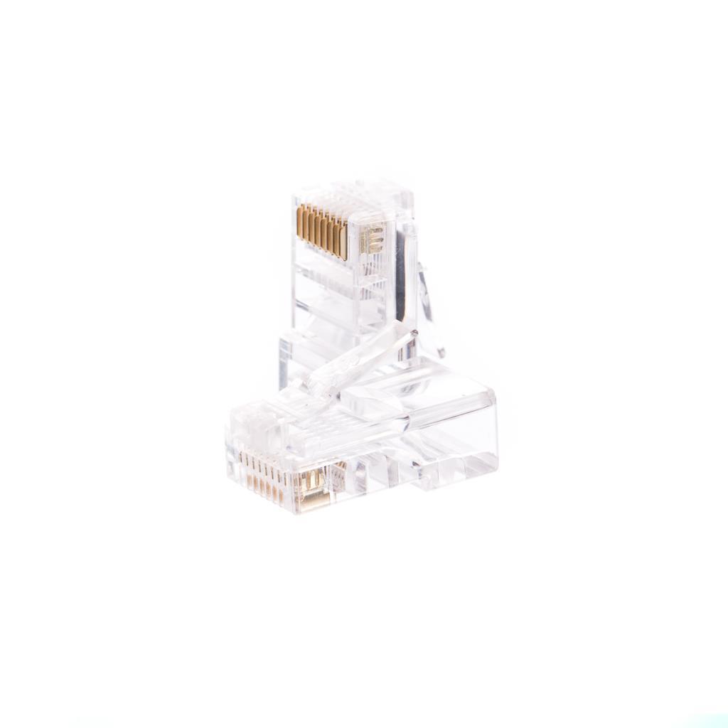 Netrack GoldMax 50u konektor RJ45 8p8c, UTP drát, cat. 5e (100 ks)
