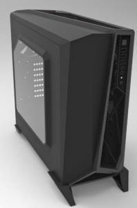 Corsair PC skříň Carbide Series™ SPEC-ALPHA Micro-ATX, Mini Itx, černo-stříbrná