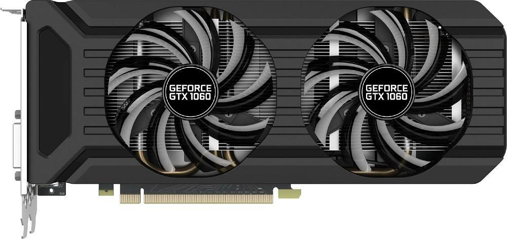 PALIT GeForce GTX 1060 Dual, 6GB GDDR5 (192 Bit), HDMI, DVI, 3xDP*