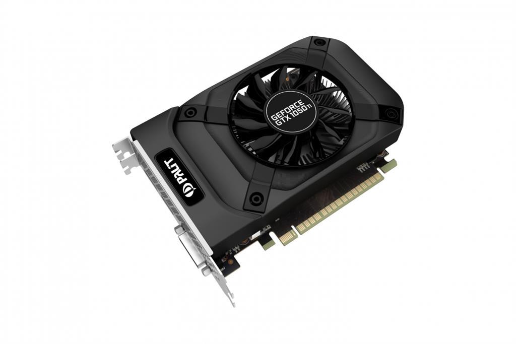 PALIT GeForce GTX 1050 Ti 4GB StormX DP + HDMI + Dual-link DVI