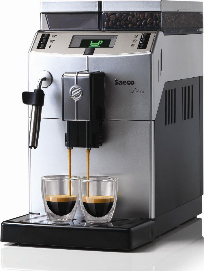 Saeco RI9841/01 Lirika Silver Plus automatický kávovar | inox