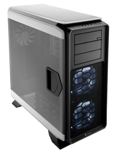 Corsair PC skříň Graphite Series™ 760T Full Tower, prosklená stěna, bilá