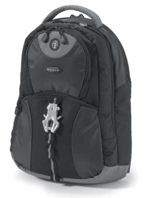 DICOTA Bac Pac Mission Pure Black