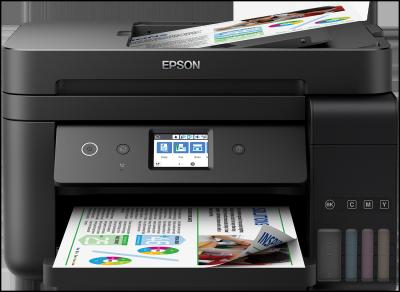 EPSON L6190 - A4/33-20ppm/4ink/ADF/Wi-Fi//LAN//duplex/CISS/FAX