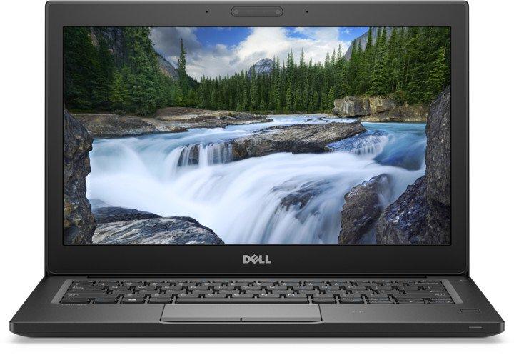 """DELL Latitude 7290/i5-7300U/8GB/256GB SSD/Intel HD 620/12.5"""" HD/FPR/CAM/Win 10 Pro 64bit/Black"""