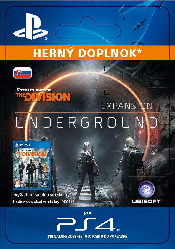 ESD SK PS4 - TOM CLANCY'S THE DIVISION underground