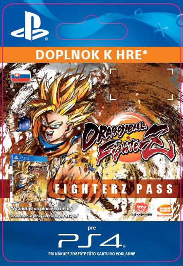ESD SK PS4 - DRAGON BALL FIGHTERZ - FighterZ Pass 26.1.2018