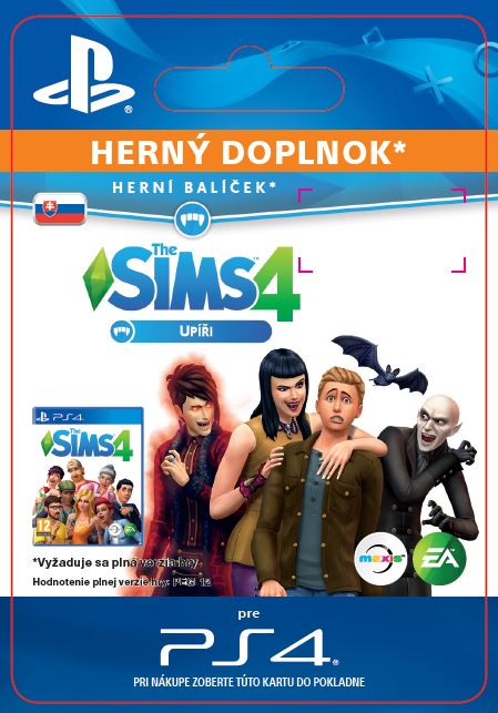 ESD SK PS4 - The Sims™ 4 Vampires
