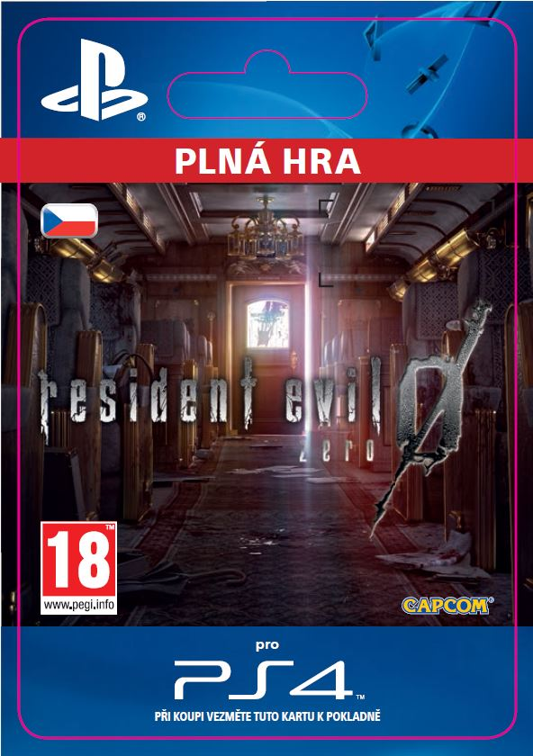 ESD CZ PS4 - Resident Evil 0