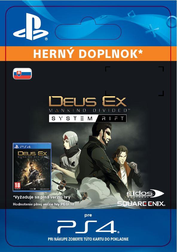 ESD SK PS4 - Deus Ex: Mankind Divided -System Rift