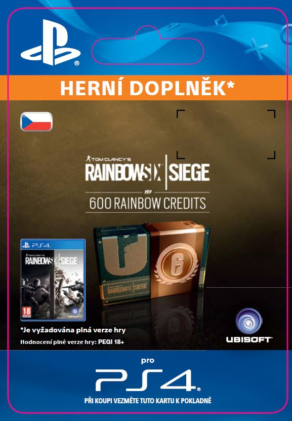 ESD CZ PS4 -600 Credits Pack