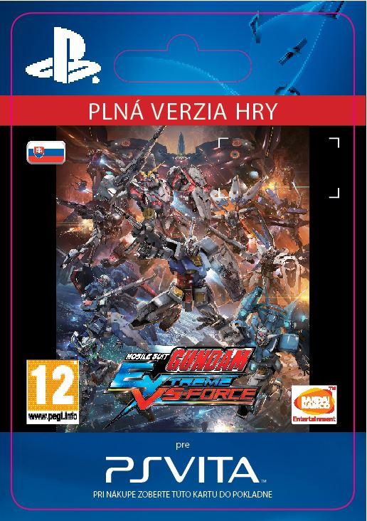 ESD SK PS Vita - MOBILE SUIT GUNDAM EXTREME VS-FORCE
