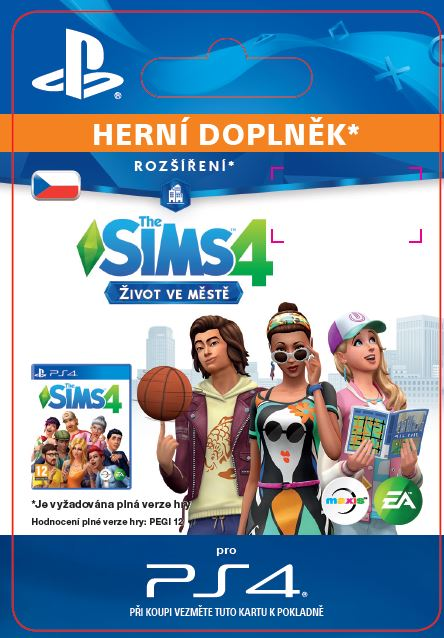 ESD CZ PS4 - The Sims™ 4 City Living