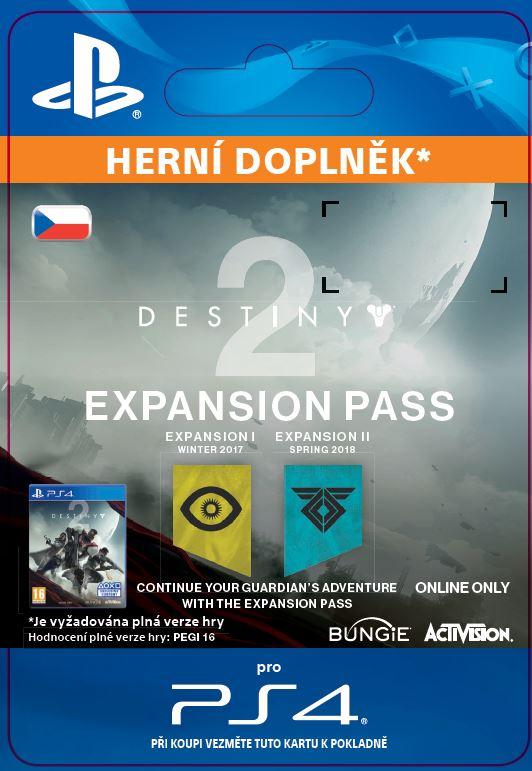 ESD CZ PS4 - Destiny 2 Expansion Pass
