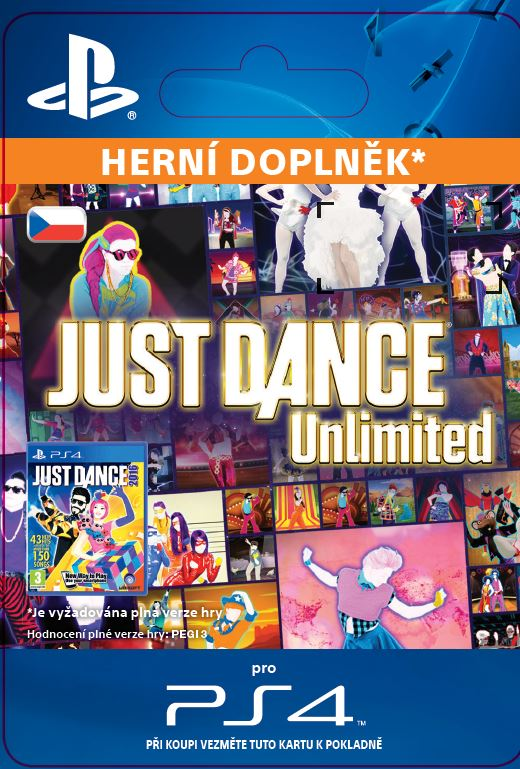 ESD CZ PS4 - Just Dance Unlimited - 12 months pass