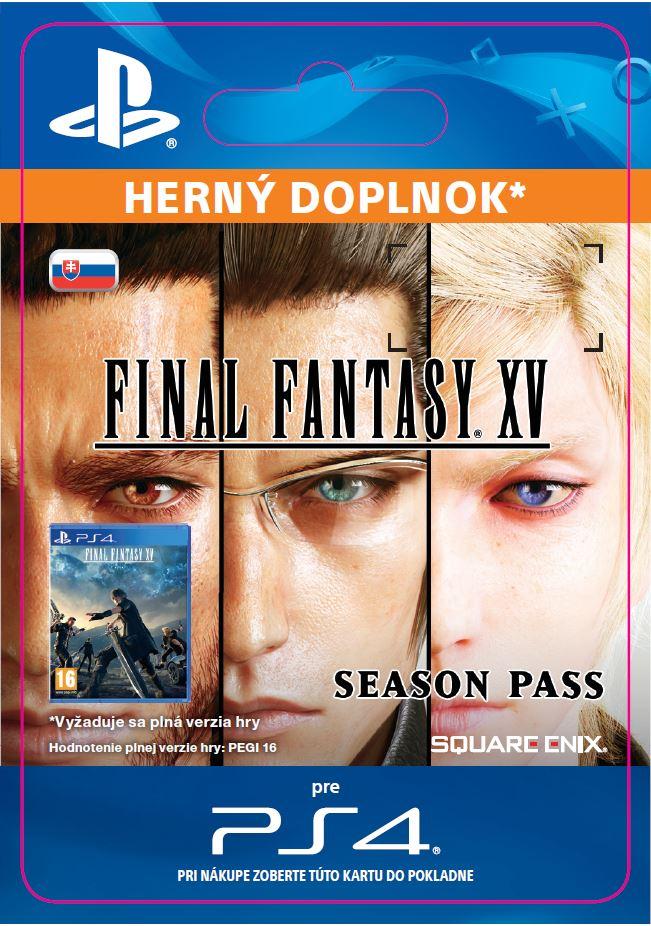 ESD SK PS4 - FINAL FANTASY XV Season Pass