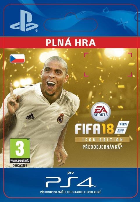 ESD CZ PS4 - FIFA 18 ICON Edition
