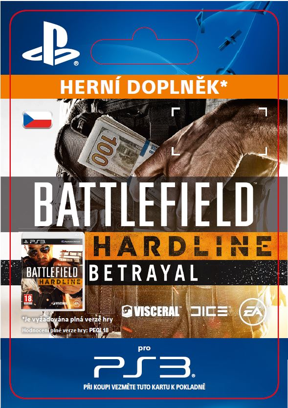 ESD CZ PS3 - Battlefield Hardline Betrayal