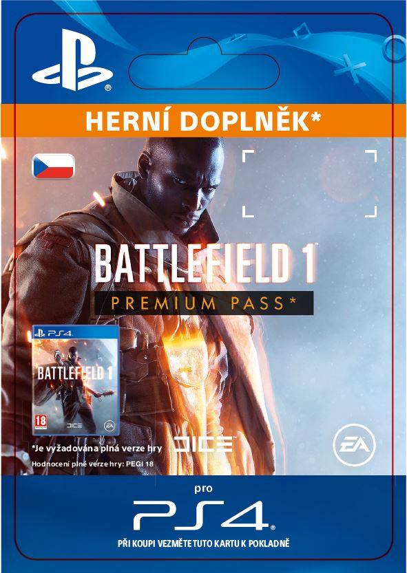 ESD CZ PS4 - Battlefield 1 Premium Pass
