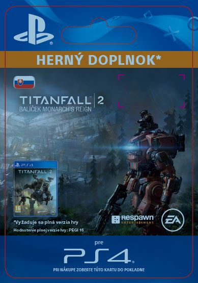 ESD CZ PS4 - Titanfall™ 2: Monarch's Reign Bundle