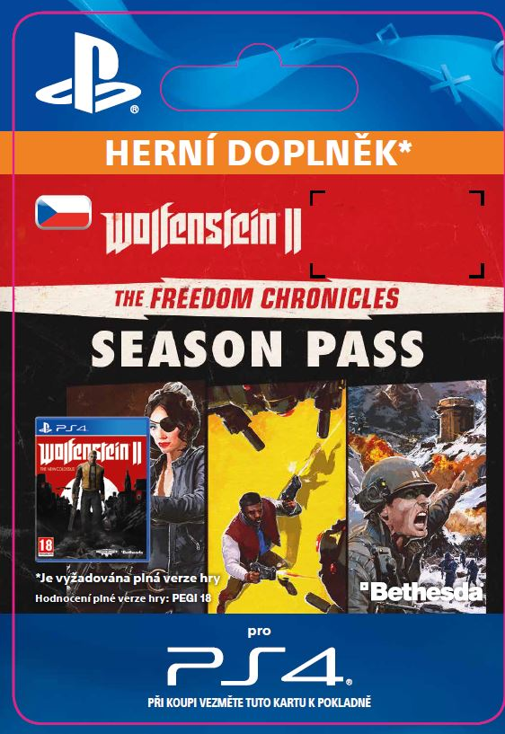 ESD SK PS4 - Wolfenstein® II: The Freedom Chronicles Season Pass