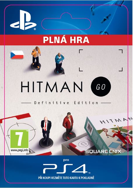ESD CZ PS4 - Hitman GO: Definitive Edition