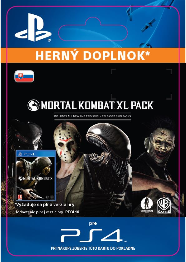 ESD SK PS4 - Mortal Kombat X XL Pack