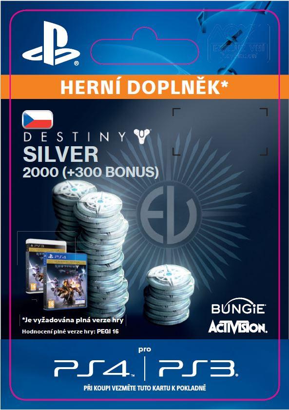 ESD CZ PS4 - 1000 (+100 Bonus) Destiny Silver