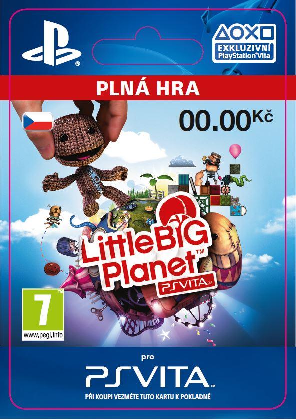 ESD CZ PS Vita - LittleBigPlanet PlayStation Vita Marvel Super Hero Edition