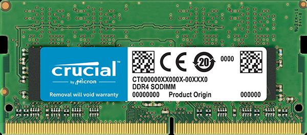 Crucial DDR4 8GB 2666MHZ, SODIMM, CL19
