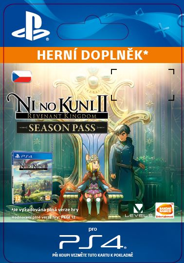 ESD CZ PS4 - Ni no Kuni™ II: Revenant Kingdom - Season Pass