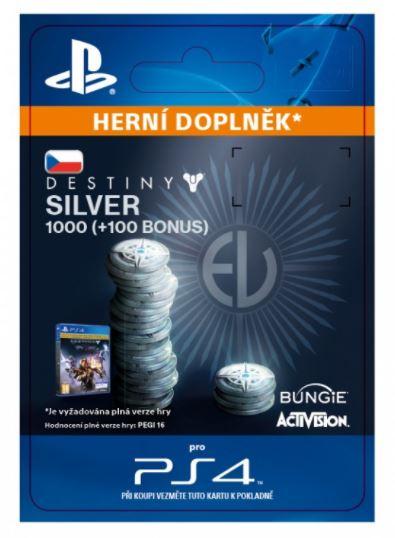 ESD CZ PS4 - 1000 (+100 Bonus) Destiny 2 Silver