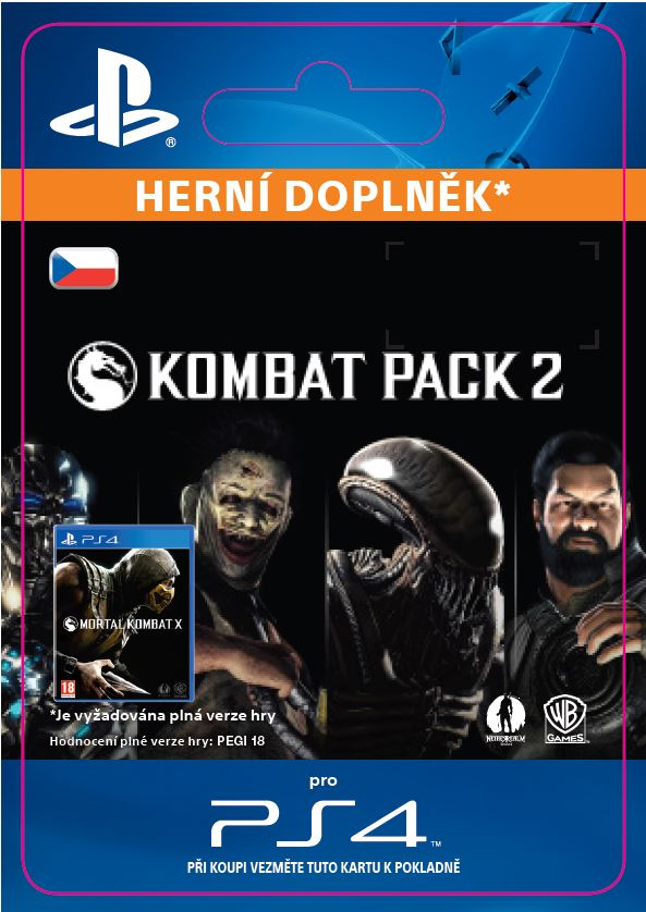 ESD CZ PS4 - Mortal Kombat X Kombat Pack 2