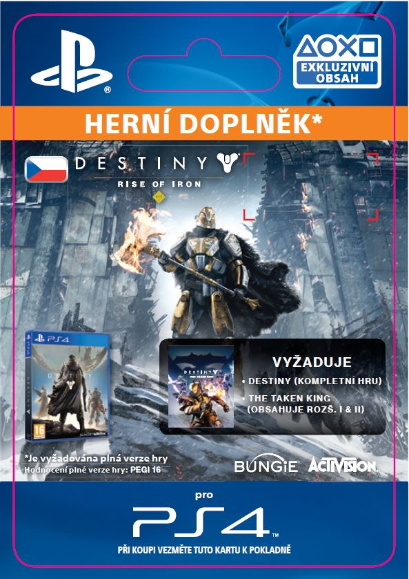 ESD CZ PS4 - Destiny: Rise of Iron